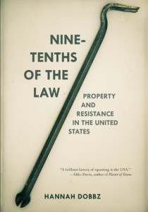 Cover of Nine Tenths of the Law by Hannah Dobbz