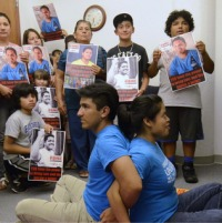 Protest in Charlotte to release Luis Leon