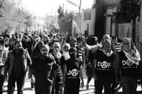 Turkish anarchists from DAF cross border to support resisters in Kobane