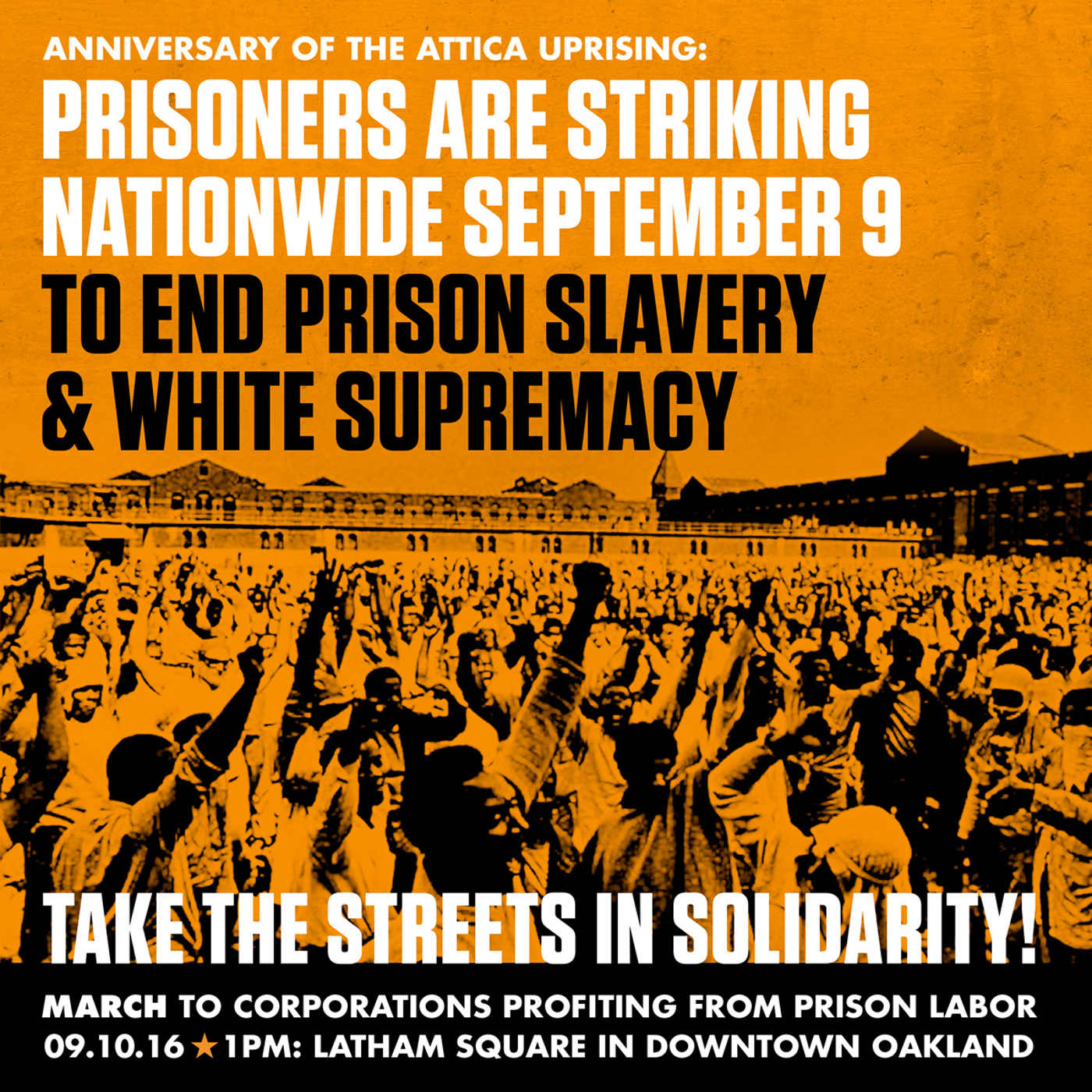 #PrisonStrike