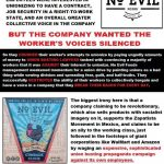 No Evil Foods Union Busting Flyer