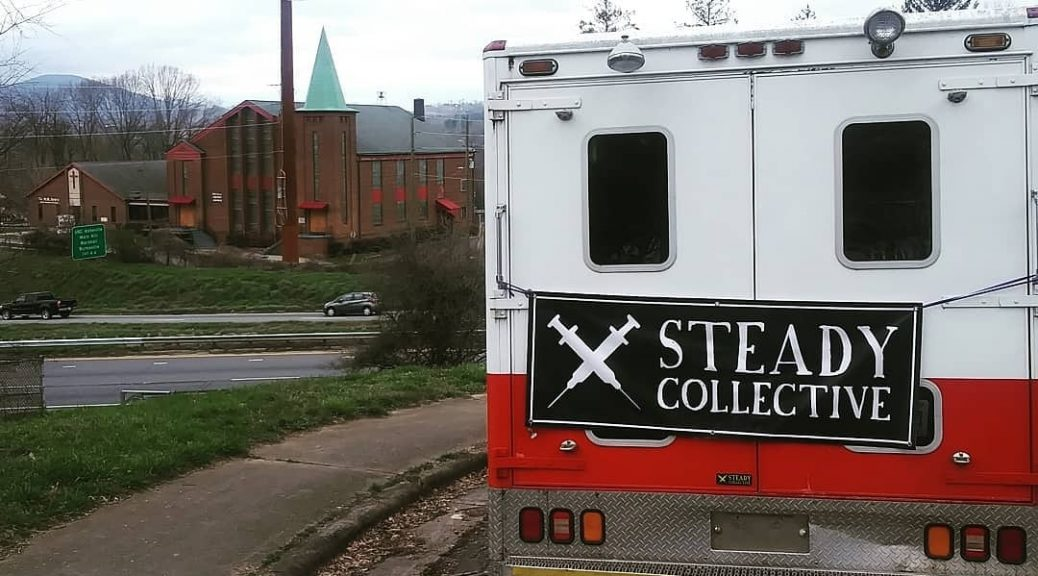 Steady Collective ambulance in West Asheville