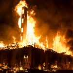 Upscale condo under construction in Minneapolis burnt during George Floyd uprising