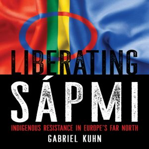 "Book cover of ""Liberating Sapmi"", PM Press"