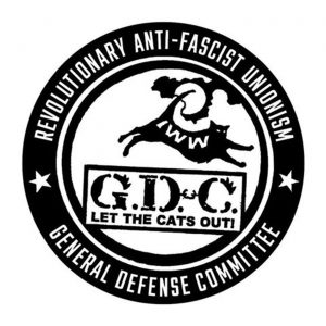IWW General Defense Committee logo