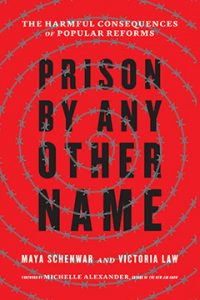 "Book cover of first, hardback edition of ""Prison By Any Other Name"""