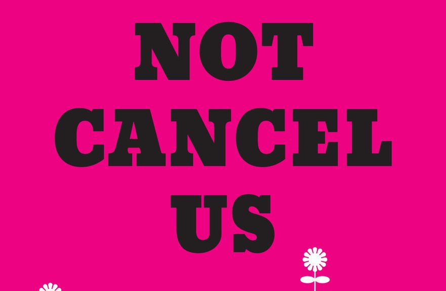 "book cover of ""We Will Not cancel Us"""