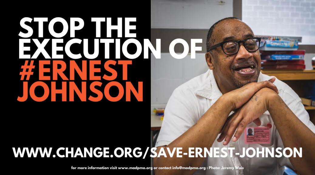Stop The Execution of Ernest Johnson