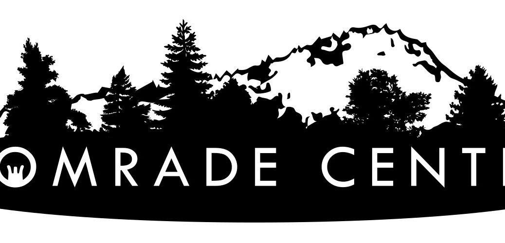 """Comrade Center"" countryside logo"